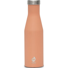 MIZU S4 Insulated Bottle with Stainless Lid 400ml Soft Touch Peach